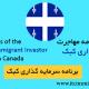 مزایای برنامه سرمایه گذاری کبک مهاجرت به کانادا