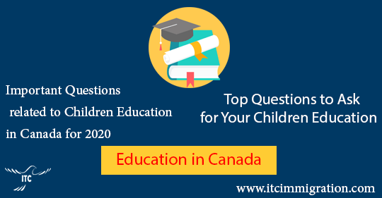 Top Questions About Education in Canada immigrate to Canada
