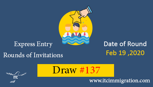 Express Entry Draw 137 immigrate to Canada
