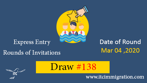 Express Entry Draw 138 immigrate to Canada