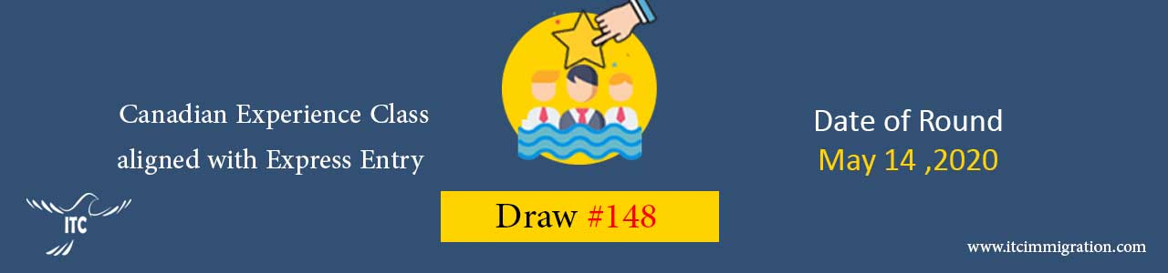 Canadian Experience Class Draw 148 immigrate to Canada