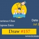 Canadian Experience Class Draw 157 immigrate to Canada