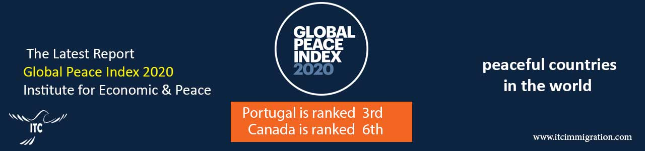 Global Peace Index 2020 immigrate to Canada