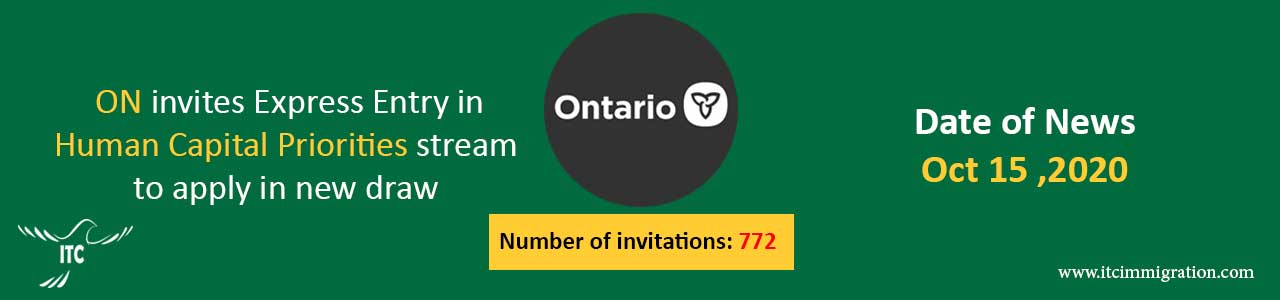 Ontario Human Capital Priorities 15 Oct 2020 immigrate to Canada