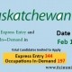 Saskatchewan Express Entry 11 Feb 2021
