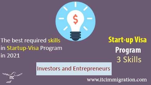 Three Required Skills in Start-up Visa Program in 2021