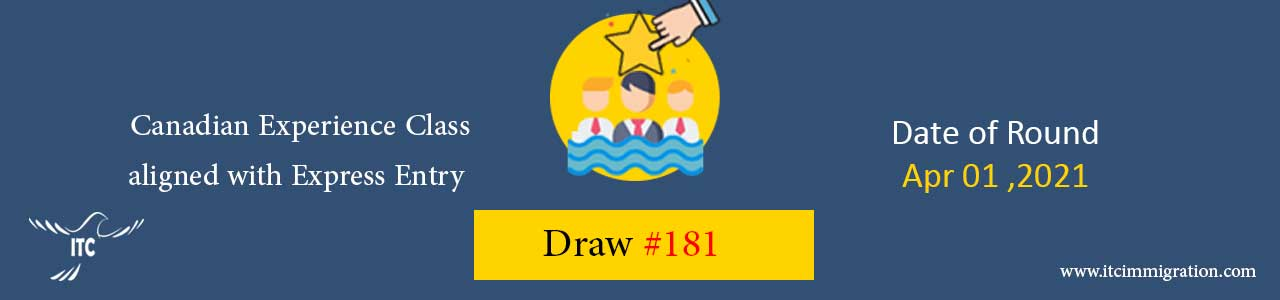 Canadian Experience Class Draw 181