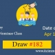 Express Entry Provincial Nominee Draw 182