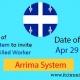 New Draw Quebec Arrima 29 Apr 2021