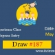Canadian Experience Class Draw 187
