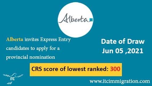 Alberta Express Entry 5 Jun 2021