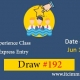 Canadian Experience Class Draw 192