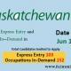 Saskatchewan Express Entry 15 Jun 2021