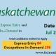 Saskatchewan Express Entry 21 Jul 2021
